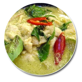 69. Chicken Thai Green Curry