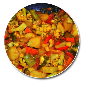 61. Mixed Vegetable Curry